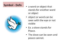 symbol in literature dr husniah sahamid ppt video online  4 symbol