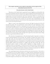 sample of an expository essay cover letter expository essay writing examples expository essay