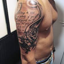 Quote Tattoos For Guys Classy Quote Tattoos For Guys Luxury 48 Rosary Tattoos For Men Sacred