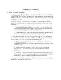 Sample Prenup Free Prenuptial Agreement Sample Form Premarital Pdf California