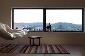 Rug, Large Window, Views, Hanging Home in Naxxar, Malta by Chris Briffa