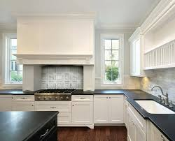 white kitchen cabinets with black countertops. Honed Black Countertops White Kitchen Cabinets With B