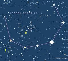 Tonights Star Chart See Corona Borealis The Northern Crown Tonight Earthsky