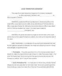 Sample Notice Of Termination Of Contract Pohlazeniduse