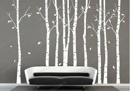 vinyl wall decal nature design tree