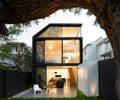 Collect this idea black exterior glass