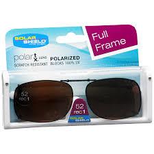 Solar Shield Size Chart Polarized Clip On Sunglasses Walgreens