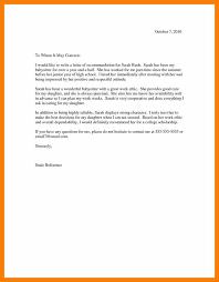 Recommendation Letter Ending Good Resume Format