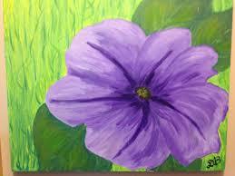 flower garden paintings for kids