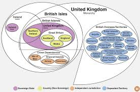 British Monarchy Chart The Absurdly Confusing Lands Of The British Crown Explained