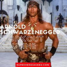 arnold schwarzenegger workout routine and t plan train like a face of bodybuilding and man behind conan mr freeze and terminator