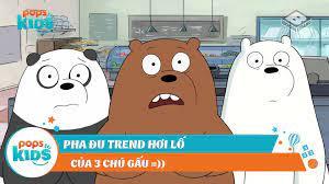 Thích Hoạt Hình - Pha đu trend của 3 chú gấu - We Bare Bears