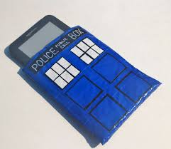 doctor who tardis tech case duct tape