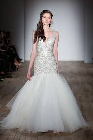 10 amazing las vegas wedding dresses Wedding Dresses Vegas you'll shine as bright as the strip's neon lights with a sparkly beaded wedding dress like this one from lazaro we love the dramatic trumpet silhouette and wedding dress vegas style