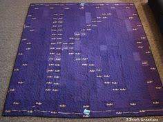 quilt made from Crown Royal bags. I never wanted to see another ... & quilt made from Crown Royal bags. I never wanted to see another Crown Royal  bag after I finished this! | Crown Royal Quilts | Pinterest | Crown royal  bags, ... Adamdwight.com