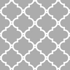 morocco trellis wallpaper grey white