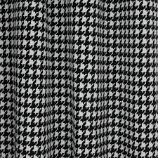 home decor indoor outdoor fabric classic black houndstooth black