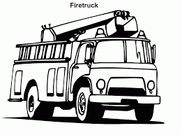 Small Picture Fire Truck Coloring Pages To Print Coloring Page Fire Truck
