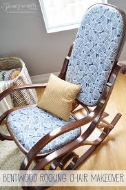 bentwood rocker reuph just picked one of these up on bulky pick up day with broken cane can t wait to transform it