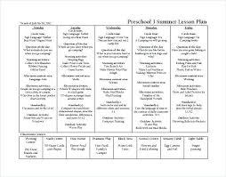 Accounting Worksheet Example Preschool Language Arts Lesson Plans Hunter Lesson Plan