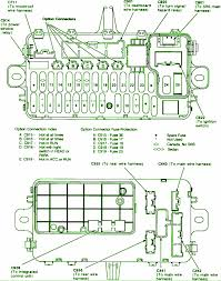 honda civic fuse box 2005 honda wiring diagrams