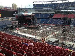 Taylor Swift Gillette Stadium Seating Chart Gillette Stadium Section Cl8 Concert Seating Rateyourseats Com
