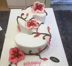 Letter S Cake 2