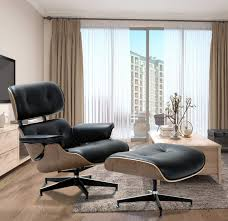 classic lounge chair ottoman by manhattan home design