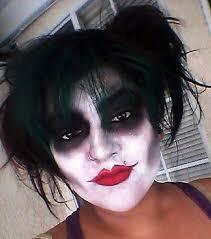 women joker makeup for halloween