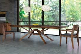 exeter extension table from copeland furniture yliving how to choose the right size dining table