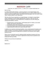 graphic designer cover letter example cover letters formats