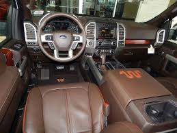 ford trucks 2015 interior. interior view of the 2015 ford f150 king ranch supercrew 4x4 fordkingranch trucks f