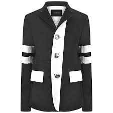 Boys Designer Blazer Cesare Paciotti Boys Black White Blazer Boys Designer
