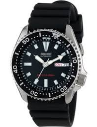 amazon co uk diving sports watch store watches seiko men s skx173 stainless steel and black polyurethane automatic dive watch