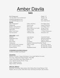10 Quick Tips For Theatre Audition Resume Resume Information