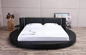 round bed furniture. Matisse Oslo-X Round Bed Queen Size (Black) Round Bed Furniture