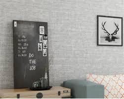 Aan De Verkoop Beibehang Behang Roll Moderne Plain Linnen