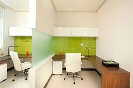 doctor office interior design. White Concrete Wall Modern Interior Medical Combined With Wooden Table It Also Has Seat On Design Doctor Office I