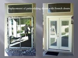 sliding patio french doors. Brilliant Patio Replacing Sliding Glass Door With French Doors Awesome  Best Intended Sliding Patio French Doors A