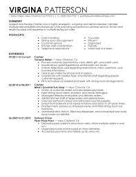 Resume Sample For Cashier At A Supermarket Resume Objectives For
