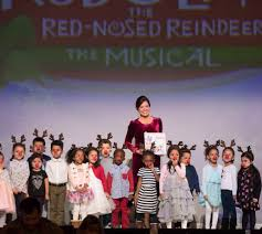 there was a special surprise on thursday night for our garden of dreams children from whedco at rudolph the red nosed reindeer the al s opening night