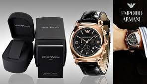 latest emporio armani watches for men