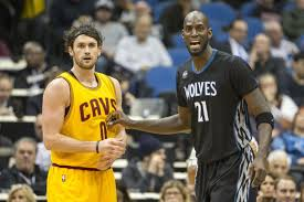 Power forward and center shoots: Kevin Love Deserves Credit For The New Timberwolves Roster