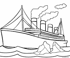 Small Picture Printable Titanic Coloring Pages For Kids Cool2bKids