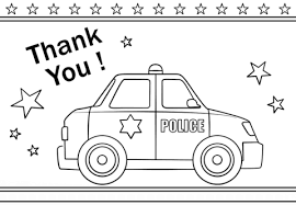 Small Picture Thank You Police coloring page Free Printable Coloring Pages