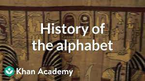 The international phonetic alphabet (revised to 2015). History Of The Alphabet Video Khan Academy