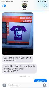 T Shirt Editing Software T Shirt Creator Issues Nba2k