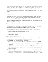 literature review example apa what to write in literature review of a research proposal