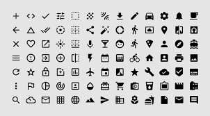 Material Design Iconography System Icons Material Design