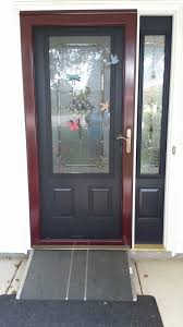 larson storm doors menards lovely strom door progress my new reliabilt strom door wood storm doors